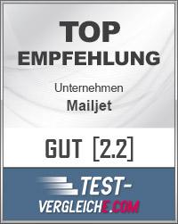 mailjet - Siegel